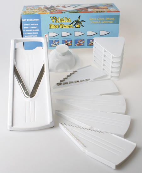 V blade Mandolim slicer;v slicer as seen on TV