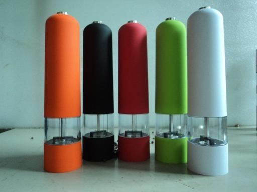 Colorful Electric Salt & Pepper Miller