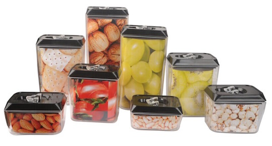 6 pcs rectangle pantry set